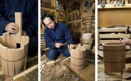 Chiếc xô gỗ tưởng đơn giản mà có giá nghìn đô và câu chuyện hồi sinh ngành thủ công của nghệ nhân Nhật Bản