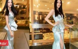 Điều gì xảy ra khi 'bom gợi cảm' Phương Khánh và 'thần tiên tỉ tỉ' Đỗ Mỹ Linh mặc chung váy?