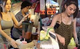 Cô nàng body nóng bỏng bán nước ép ở chợ nhưng ai nấy đều thấy tiếc hùi hụi khi biết sự thật này