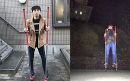Nhật Bản nói là làm: Thanh niên đi cà kheo gần 100 km từ Tokyo tới Hakone vì lời hứa trên MXH