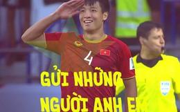 Dũng 'bộ đội' gửi tặng chiến thắng tới đồng đội đang điều trị chấn thương ở Hàn Quốc