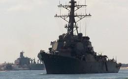 """Nga điều chiến hạm gì """"hộ tống"""" 2 tàu khu trục tên lửa Mỹ trên biển Baltic?"""