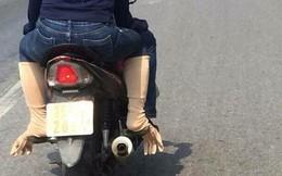 Dùng găng tay thay vớ chân chống nắng, nữ ninja kiểu mới được khen 'sáng tạo hết phần thiên hạ'