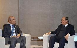 Thủ tướng Nguyễn Xuân Phúc gặp lãnh đạo Apple, Facebook