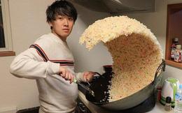 Sự thật phía sau chảo cơm rang khổng lồ gây bão Internet của anh chàng Nhật Bản