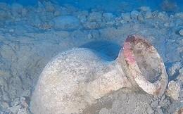 Phát hiện bình cổ 2000 năm tuổi dưới đáy biển Địa Trung Hải