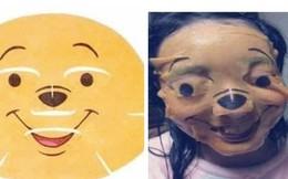 Cứ tưởng đắp mặt nạ gấu Pooh là đáng yêu ai dè lại thành thảm hoạ doạ ma người khác
