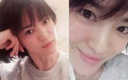 Song Hye Kyo gây choáng với ảnh selfie cận mặt: 38 tuổi mà da bóng mịn không chút nếp nhăn