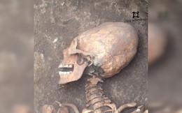 Phát hiện bộ xương phụ nữ có hộp sọ của 'người ngoài hành tinh'