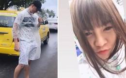 Lâm Tây nghỉ dưỡng với bạn gái ở Nha Trang, lại còn diện áo mưa đôi cực tình cảm
