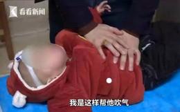 Con trai té vào máy giặt đến tắt thở vì đuối nước, hành động kịp thời của ông bố cứu sống đứa trẻ thành công