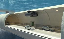 Choáng ngợp trước dự án đường hầm nổi đầu tiên trên thế giới của Na Uy