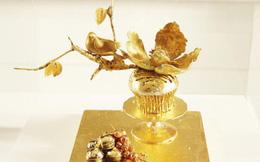 Loạt những món ăn dát vàng lấp lánh sinh ra dành cho hội nhà giàu ăn chơi trong ngày cuối năm