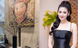 Bận rộn chăm con nhỏ, Á hậu Tú Anh vẫn chu đáo trang hoàng nhà cửa chuẩn bị đón Tết cùng gia đình chồng