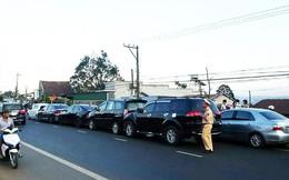Đường lên Đà Lạt ách tắc nhiều giờ sau vụ va chạm giữa 5 ô tô