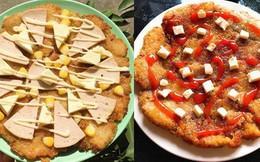 Tổng hợp những chiếc 'pizza nhà làm' cực xịn đầu năm mới, ai cũng bất ngờ khi biết nguyên liệu chính