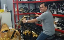 'Khoe' 3 chiếc mô tô mạ vàng giá gần 10 tỷ đồng, Phúc XO hứa tặng cả 3 nếu ai có chiếc tương tự
