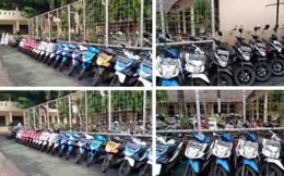 Bảo vệ trường nhà người ta: Ngày nào cũng xếp xe của học sinh theo hãng, màu sắc một cách ngăn nắp đáng kinh ngạc