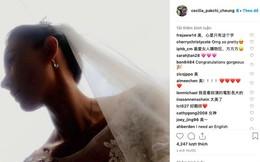 HOT: Trương Bá Chi bất ngờ đăng ảnh mặc váy cô dâu, chuẩn bị làm đám cưới với tỷ phú?