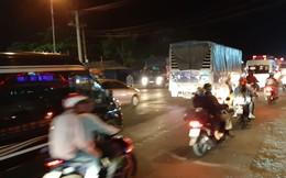 Hàng ngàn người 'rồng rắn' chạy xe suốt đêm về TP Hồ Chí Minh cho kịp ngày đi làm đầu tiên sau Tết