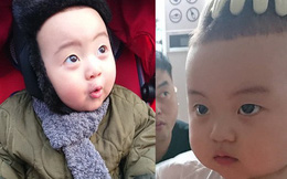 Nhóc tỳ 16 tháng tuổi gây sốt nhờ gương mặt đầy biểu cảm nhưng hàng lông mày của bé mới khiến chị em khao khát