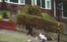 Video: Gã đàn ông táo tợn cướp đồ và xô ngã người phụ nữ trên phố