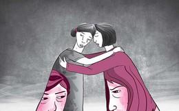 Tình địch ôm nhau khóc tại phiên tòa cảm xúc