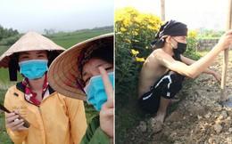 Dân mạng khoe ảnh đi làm đồng ngày Tết: Con nhà nông thì sao, giúp được bố mẹ là hạnh phúc rồi!