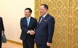 Bộ trưởng Ngoại giao Triều Tiên cám ơn lập trường và những nỗ lực của Việt Nam