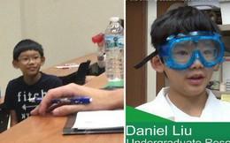 Con nhà người ta: Cậu bé 11 tuổi đã giúp sinh viên đại học làm bài tập, 13 tuổi làm công việc nghiên cứu