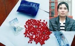 Bắt đối tượng tàng trữ 200 viên ma túy và 3,9941 gam heroin