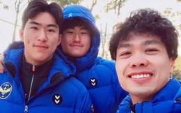 Công Phượng livestream học tiếng Hàn cực đáng yêu