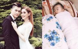Lâm Khánh Chi lần đầu công khai ảnh cận mặt con trai đầu lòng sau thời gian giấu kín