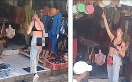 Đi du lịch, cô gái mặc quần cắt trước xẻ sau, lộ toàn bộ vùng nhạy cảm khiến tài xế ngượng chín mặt