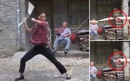 Xem 'em gái Lý Tiểu Long' trổ tài múa côn nhị khúc cực đỉnh