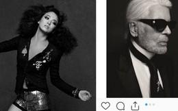 Giữa sóng gió, Song Hye Kyo bày tỏ niềm tiếc thương cùng bộ ảnh may mắn chụp bên huyền thoại quá cố Karl Lagerfeld