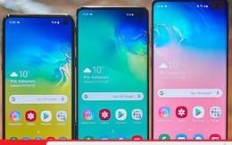 Chỉ cần xem hình ảnh này bạn sẽ biết Samsung Galaxy S10e, S10 và S10+ khác nhau như thế nào