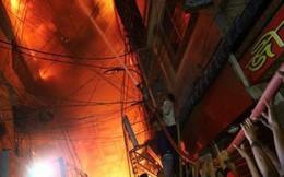 Không chạy được do kẹt xe, 45 người chết thảm trong đám cháy