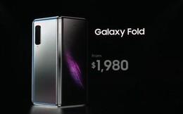 Tại sao smartphone màn hình gập Galaxy Fold có giá 1980 USD chứ không phải là một con số nào khác?