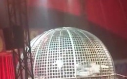 Video: Kinh hoàng mô tô bay xiếc bị rơi gây trọng thương