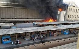 Cháy lớn tại nhà ga Ai Cập, ít nhất 60 người thương vong