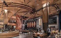 Cửa hàng lớn nhất thế giới của Starbucks ở Tokyo