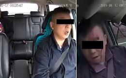 Clip: Khoảnh khắc tài xế taxi công nghệ ngủ gật dẫn đến tai nạn kinh hoàng