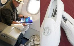 Cơn sốt đôi giày trắng của Đặng Lê Nguyên Vũ giá chỉ 70.000 đồng