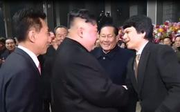 Video: Đại sứ Việt Nam tại Triều Tiên ra ga đón ông Kim Jong Un