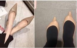 """Đừng bao giờ mua giày mà không thử, bởi bạn không biết """"tai nạn mua bán online"""" sẽ ập đến lúc nào đâu"""