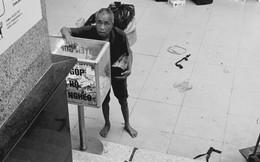 """""""Giàu có"""" như ông cụ vô gia cư, đi xin cả ngày được vài đồng lẻ vẫn đem đi ủng hộ người nghèo"""