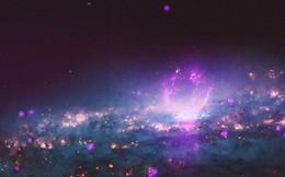 Thiên hà chứa bong bóng khổng lồ bắn tia vũ trụ vào Trái đất