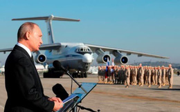 Gửi 50 máy bay cho Tổng thống Assad, ông Putin đã đảo ngược cuộc chiến Syria như thế nào?