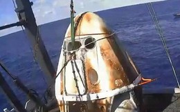 """Tàu """"Long Đội"""" do SpaceX ft. NASA đã hạ cánh: thê thảm nhưng an toàn, mở ra bước ngoặt lớn"""